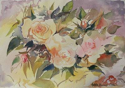 Painting - Roses by Geeta Biswas