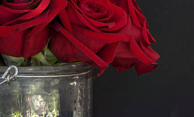 Photograph - Roses In A Bucket by Phil Rispin
