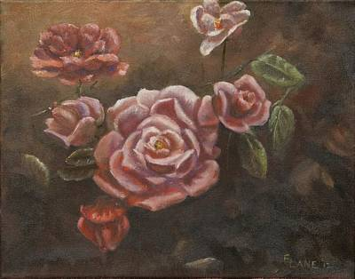 Painting - Roses In The Sun by Elizabeth Lane