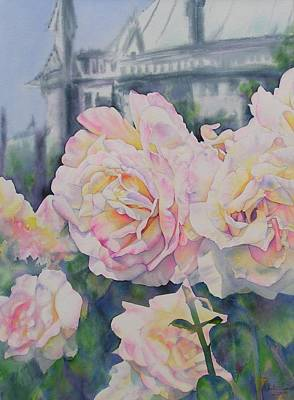 Painting - Roses Of Notre Dame Two by Annika Farmer