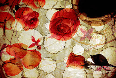 Photograph - Roses Of Yesterday by Charline Xia