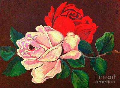 Painting - Roses by Saundra Myles