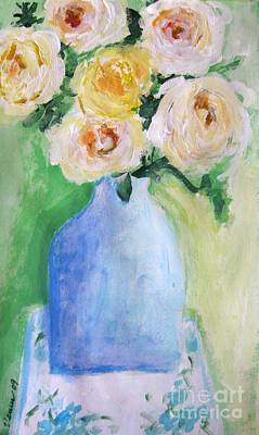 Roses Art Print by Venus