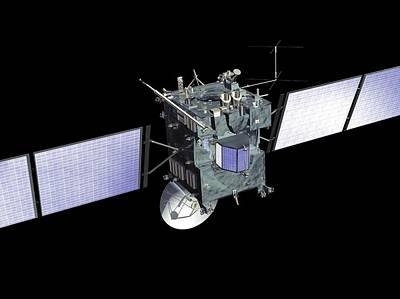 Rosetta Spacecraft Art Print by European Space Agency, Medialab