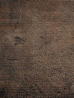 Rosetta Stone Texture Art Print