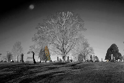 Photograph - Roseville Cemetary by David Yocum