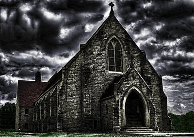 Roseville Ohio Church Art Print