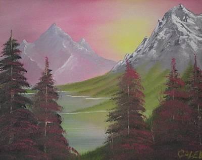 Rosie Pine Art Print by Caleb Mitchell