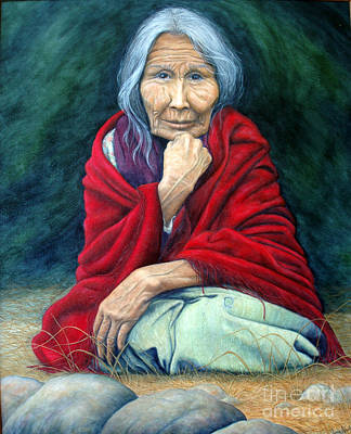 Indian Tribal Women Painting - Rosie Remembered by Joey Nash