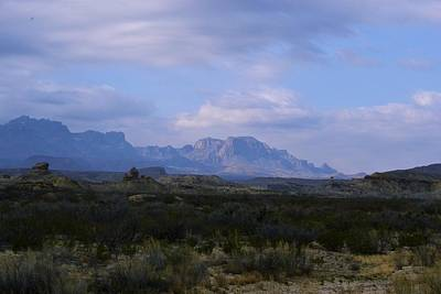 Photograph - Big Bend - Rosillos Mountains by Nadalyn Larsen