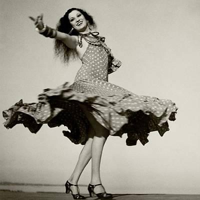 Photograph - Rosita Montenegro Dancing by Roger Schall