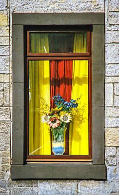 Roslin Window Art Print by Ross Henton
