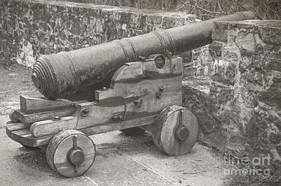 Photograph - Ross Castle Cannon by Imagery by Charly