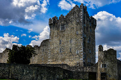 Photograph - Ross Castle In Ireland by Marilyn Burton