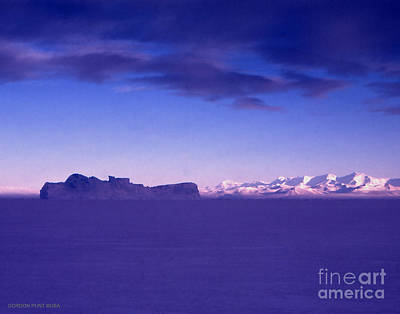 Photograph - Ross-iceshelf-g.punt-1 by Gordon Punt