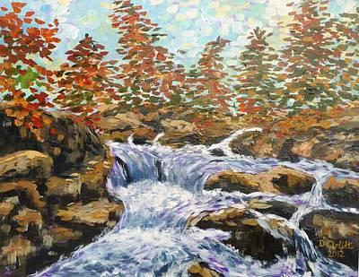 Rosseau Falls Art Print