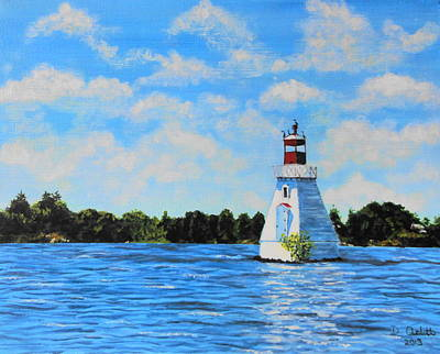 Rosseau Lighthouse Art Print