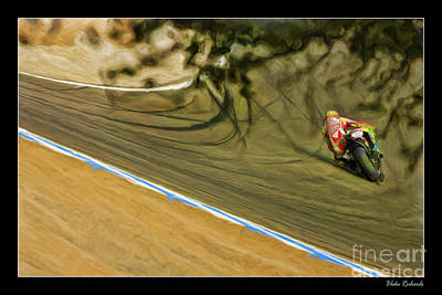 Rossi Though The Trees  Art Print
