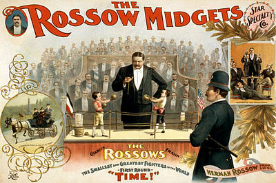 Photograph - Rossow Midgets, 1897 by Science Source