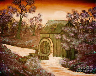 Ross's Watermill Art Print by Barbara Griffin