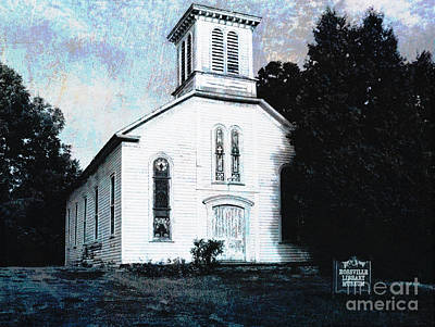 Rossville Church And Cemetery Art Print