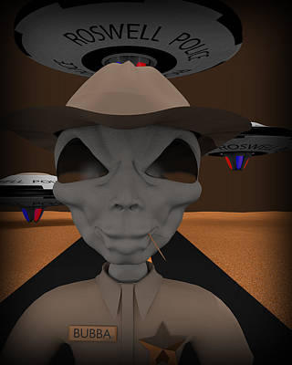 Digital Art - Roswell Pd by Robert Sanders