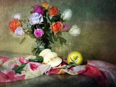 Rosy Pallet Art Print