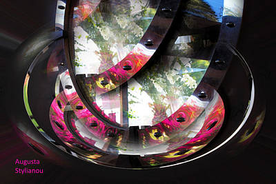 Photograph - Rotating Exotic Flowers by Augusta Stylianou