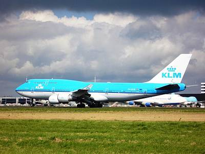 Klm Photograph - Rotating by Martin Jones
