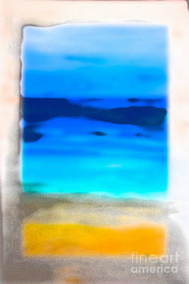 Rotcho Maui Film Grain Art Print