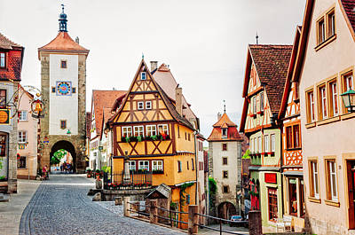 Photograph - Rothenburg by Jen Morrison