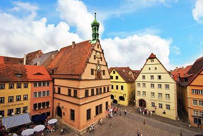 Rothenburg Photograph - Rothenburg Ob Der Tauber, Bavaria by Miva Stock