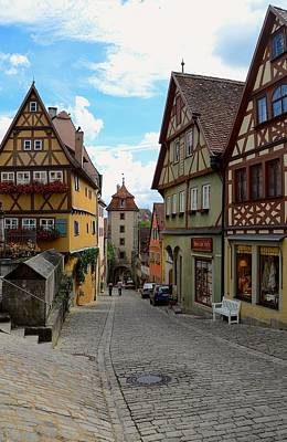 Photograph - Rothenburg Ob Der Tauber by Corinne Rhode