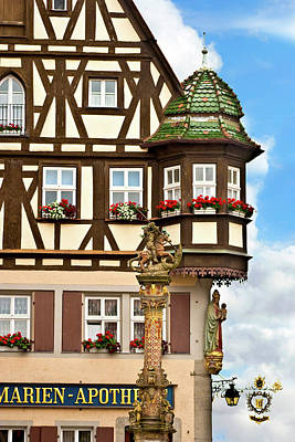 Rothenburg Photograph - Rothenburg Ob Der Tauber, Germany by Miva Stock