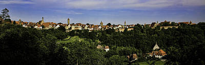 Rothenburg Panorama Print by Joanna Madloch