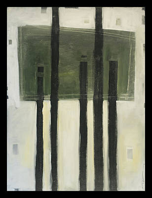 Painting - Rothkos Trees 2 by Tim Nyberg