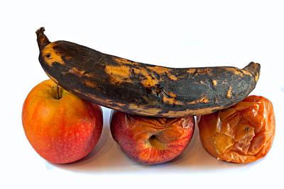 Rotten Fruit Art Print