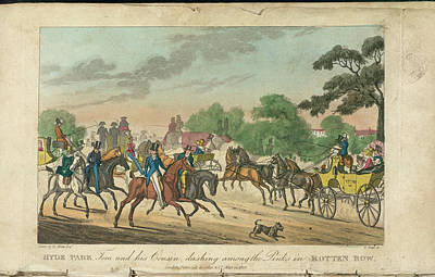 Hyde Park Photograph - Rotten Row by British Library