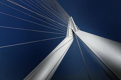 Rotterdam Photograph - Rotterdam - Blue Harmony by Michael Jurek