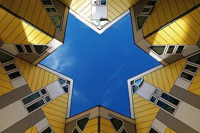 Rotterdam Photograph - Rotterdam Kubuswoningen by Nina Papiorek