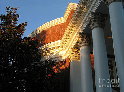 State Love Nancy Ingersoll Rights Managed Images - Rotunda at the University of Virginia Royalty-Free Image by Jason O Watson