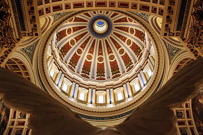 Photograph - Rotunda Dome On Wings by Joseph Skompski