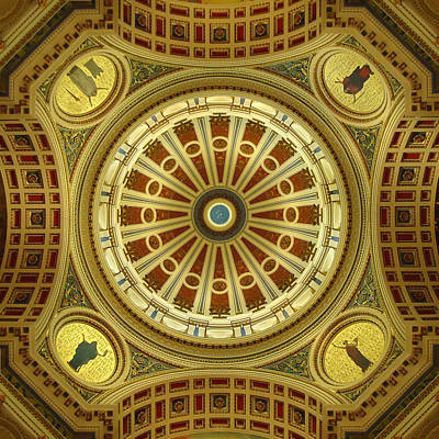 Mandala Photograph - Rotunda by Joseph Skompski