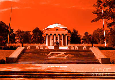 Rotunda Uva Orange Art Print