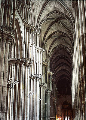 Art Print featuring the photograph Rouen by Mary Bedy