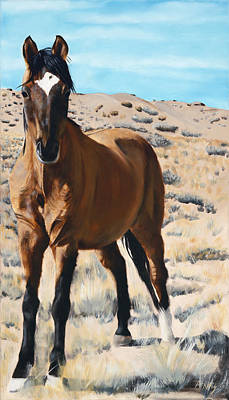 Mustang Painting - Rough And Ready by Jack Atkins