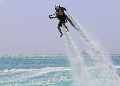 Jetpack Photograph - Rough Day In Aruba 1456 by Jack Schultz
