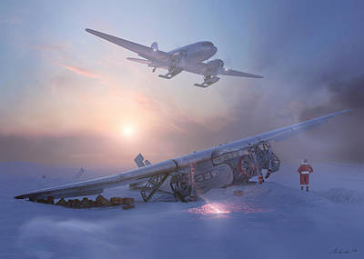 Production Painting - Rough Night At The North Pole by Hangar B Productions