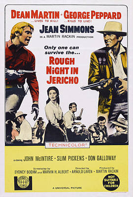 Dean Martin Poster Photograph - Rough Night In Jericho, Us Poster by Everett