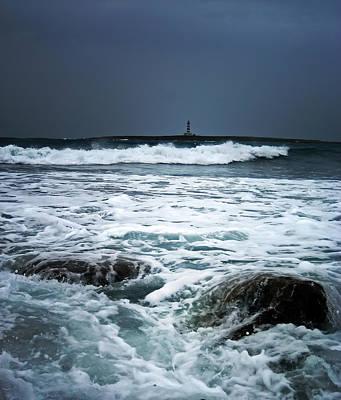 Coastal Storm Art Print